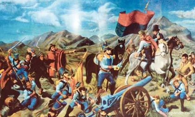 Historia de Salta - Batalla de Aroma