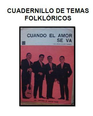 Cancionero folklorico argentino